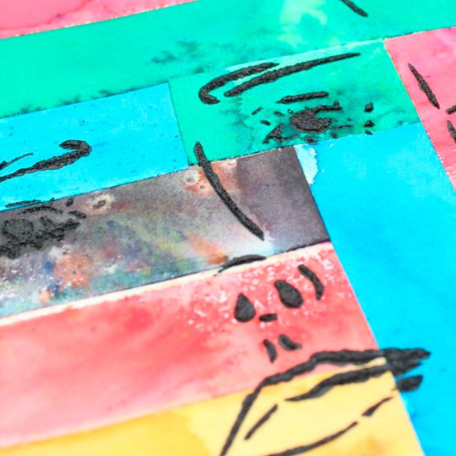 Stencils Art Journal detalle