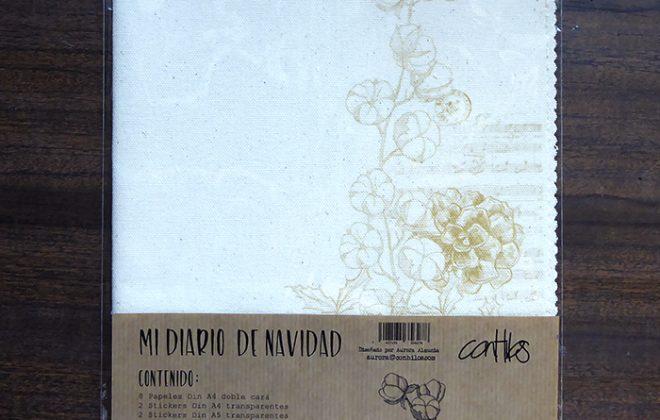 Plantilla pack de MI DIARIO DE NAVIDAD