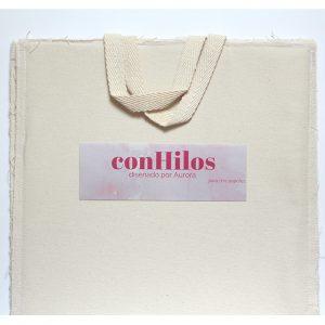 Bolsas de tela para guardar papeles de scrap 100% algodón hecha a mano