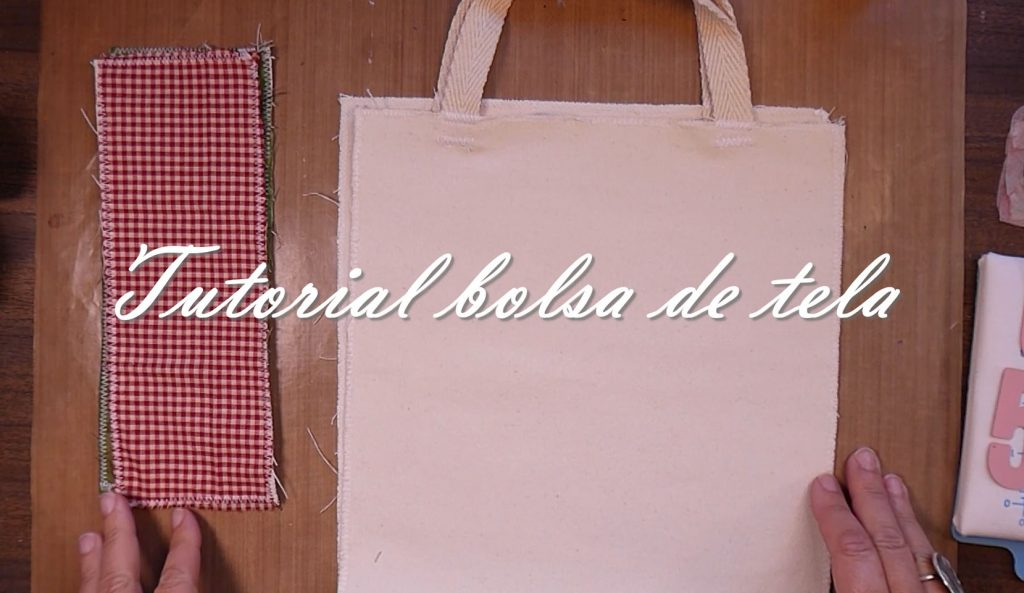 Fotograma del video Tutorial bolsa de tela