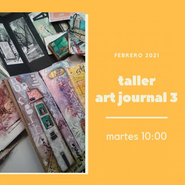 Foto portada para Taller Art Journal 3, avanzado martes por la mañana
