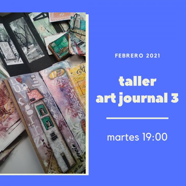 Foto portada para Taller Art Journal 3, avanzado martes por la tarde