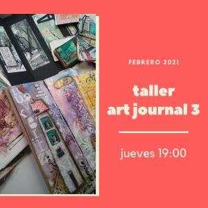Foto portada para Taller Art Journal 3, avanzado jueves tarde