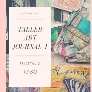 Foto portada para Taller Art Journal martes por la tarde