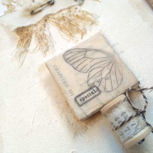 imagen de cerca del album a realizar en el taller de cajon invernal