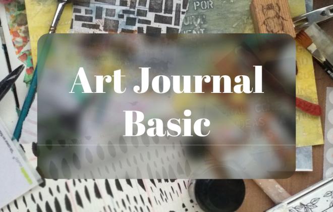 Portada de los talleres Art Journal Basic curso 2021